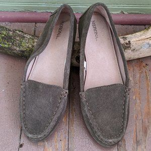 Green Loafers   Size 6.5
